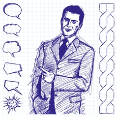 boss vector image vector image