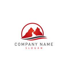 red canyon logo vector image
