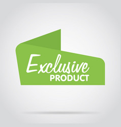 abstract isolated badge label or sticker vector image