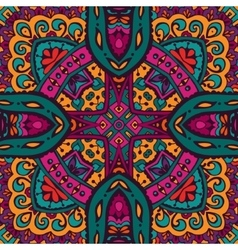 Abstract Tribal ethnic seamless pattern intricate vector image