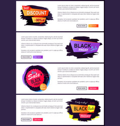 best discount -30 off set vector image