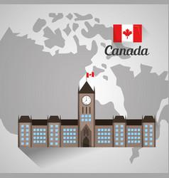 Canada country american vector