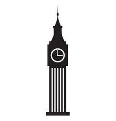 incredibly detailed big ben vector image