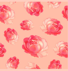 roses pattern bunch of flowers repeating print vector image