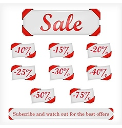 sale offers vector image