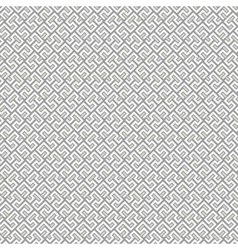 Seamless Geometric Pattern by Lines vector image