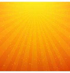 Sunburst background with rays vector