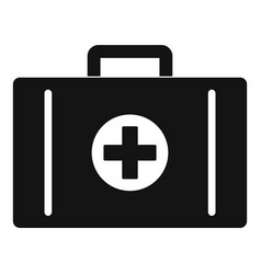 aid kit icon simple style vector image vector image