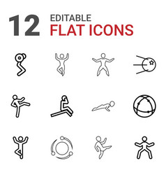 12 core icons vector