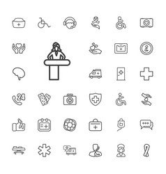 33 help icons vector
