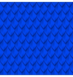 Blue dragon scales seamless background texture vector