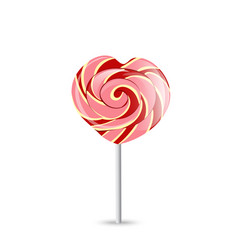 colorful lollipop on white eps-10 vector image