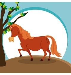 Horse icon design graphic animal vector