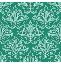 Persian openwork foliage compositions seamless vector