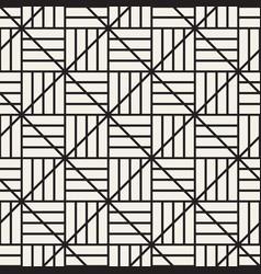 Seamless lattice pattern modern abstract texture vector