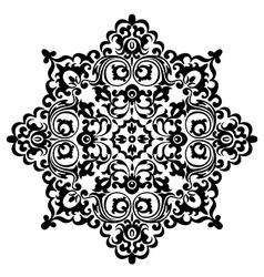 pattern black vector image