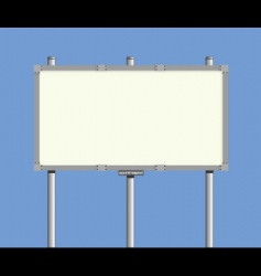 Bilboard sign vector