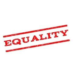 Equality watermark stamp vector