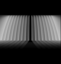 futuristic light and fog grid line background vector image
