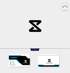 initial x monogram logo template free your vector image
