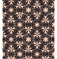 Seamless black decorative pattern vector
