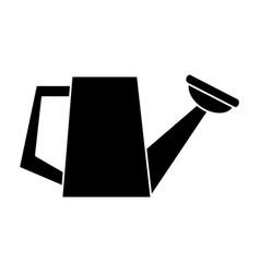 watering can garden tool pictogram vector image