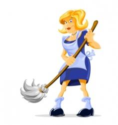 Housemaid vector