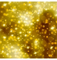 Glittery gold Christmas background EPS 8 vector image
