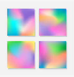 blurred abstract colorful backgrounds vector image