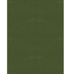 Radar Pattern Green vector image