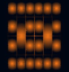 Abstract cosmic psychedelic dark blue golden vector