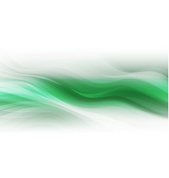 abstract shapes on green background vector image