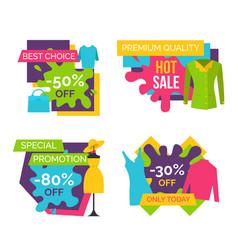 best choice 50 off premium quality hot sale set vector image