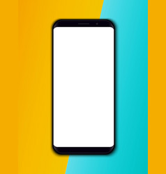 creative of mobile phone vector image