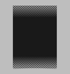 monochrome abstract halftone pattern flyer design vector image