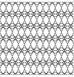 tile black and white pattern for background vector image