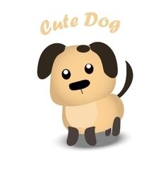 A Cute dog vector