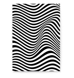 abstract layout with wavy twisted background vector image