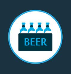 ale box icon colored symbol premium quality vector image