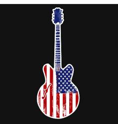 American rock n roll vector image