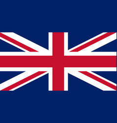 uk union jack flag of united kingdom vector image