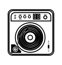 console music festival hand draw vector image