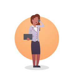 African american business woman icon lady vector