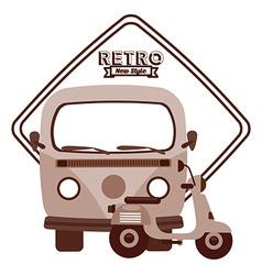 retro lifestyle vector image vector image