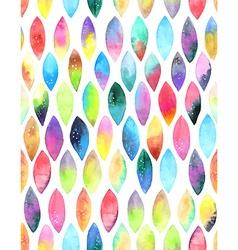 Seamless pattern of paint splash watercolor drops vector image