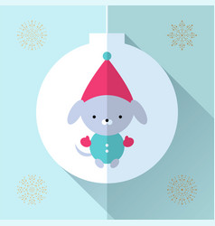 toy greeting card vector image vector image