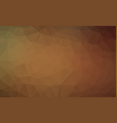 abstract brown abstract polygonal mosaic vector image
