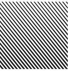 Background with diagonal black and white lines vector