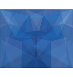blue colorful mosaic geometric abstract background vector image