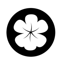 Clover leaf plant icon vector